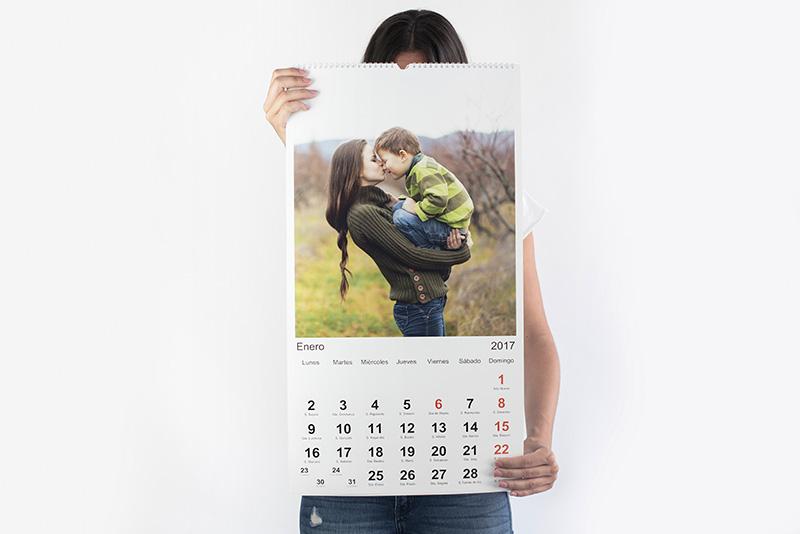 Calendario de pared XXL (A2) (35x65)