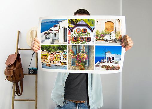 Póster Collage Lujo Hofmann