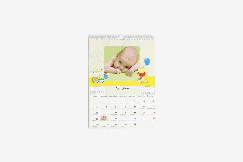 Calendario de Pared Disney Winnie the Pooh (22x30) A4