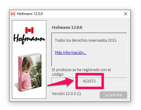 Código Hofmann 411072